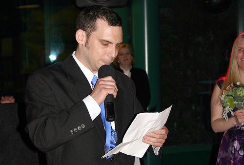 Overcoming Wedding Speech Jitters