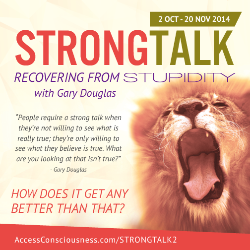 Are You Ready for Strong Talk?