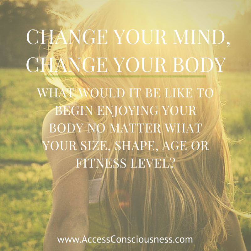 End the Judgment –  Change Your Mind, Change Your Body