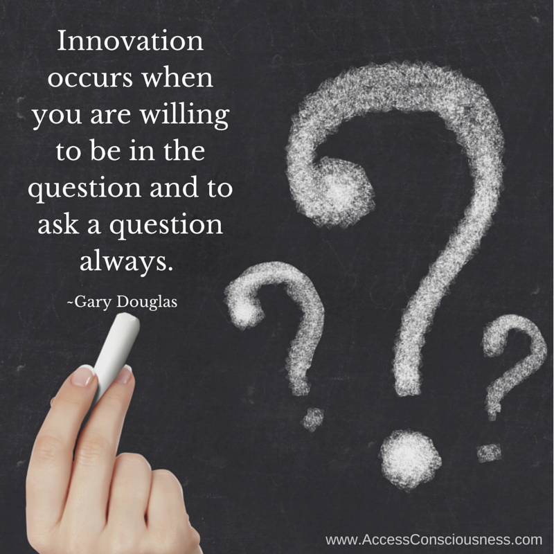 Business Innovation Through Asking Questions