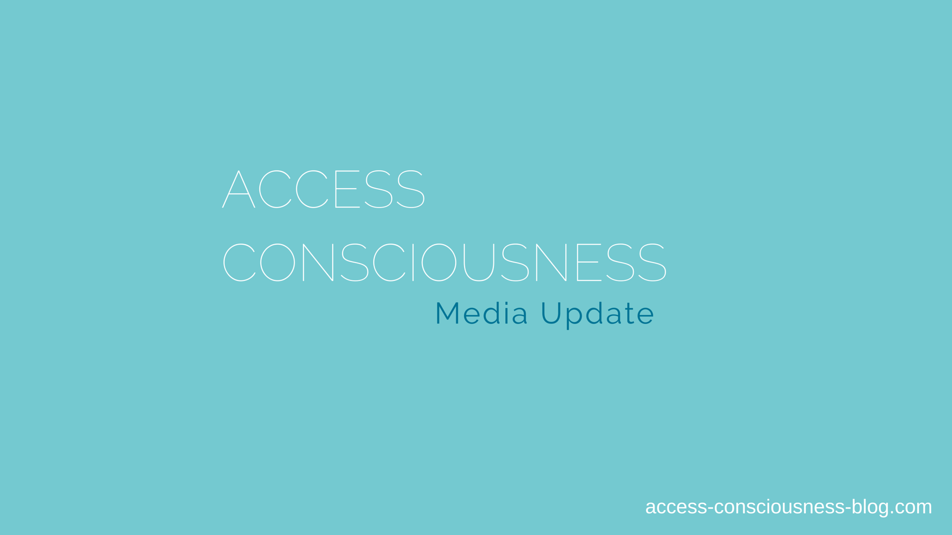 Access in the Headlines: Media Update